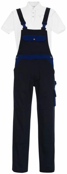 MASCOT-Workwear, Arbeits-Berufs-Latz-Hose, Monza, 82 cm, 355 g/m², marine/kornblau