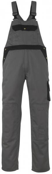 MASCOT-Workwear, Arbeits-Berufs-Latz-Hose, Monza, 90 cm, 355 g/m², anthrazit/schwarz
