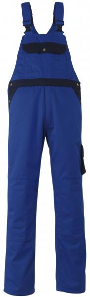 MASCOT-Workwear, Arbeits-Berufs-Latz-Hose, Milano, 82 cm, 310 g/m², kornblau/marine