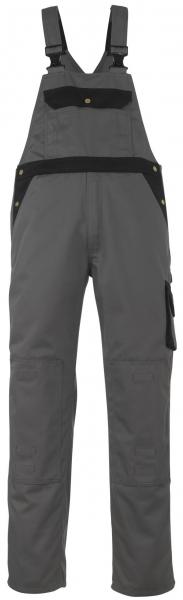 MASCOT-Workwear, Arbeits-Berufs-Latz-Hose, Milano, 82 cm, 310 g/m², anthrazit/schwarz