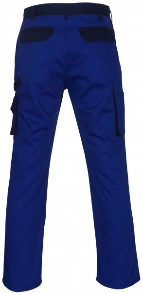MASCOT-Workwear, Arbeits-Berufs-Bund-Hose, Torino, 82 cm, 310 g/m², kornblau/marine