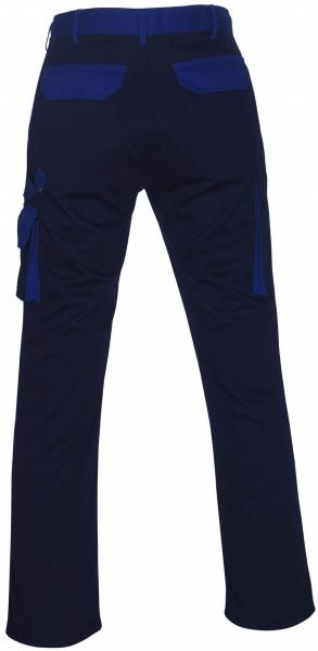 MASCOT-Workwear, Arbeits-Berufs-Bund-Hose, Torino, 82 cm, 310 g/m², marine/kornblau