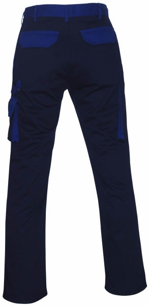 MASCOT-Workwear-Bundhose, Arbeits-Berufs-Hose, TORINO, Lg. 90 cm, MG310, marine/kornblau