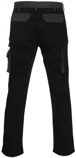 MASCOT-Workwear, Arbeits-Berufs-Bund-Hose, Torino, 82 cm, 310 g/m², schwarz/anthrazit