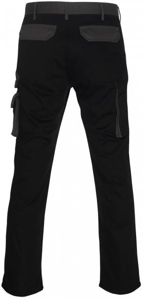 MASCOT-Workwear, Arbeits-Berufs-Bund-Hose, Torino, 90 cm, 310 g/m², schwarz/anthrazit