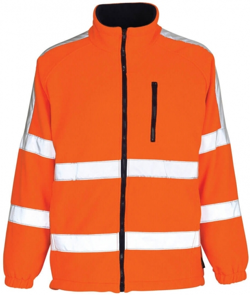 MASCOT-Workwear, Warnschutz-Fleecejacke, Salzburg, 270 g/m², orange