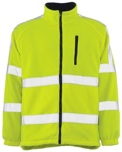 MASCOT-Workwear, Warnschutz-Fleecejacke, Salzburg, 270 g/m², gelb