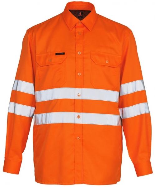 MASCOT Warn-Schutz-Arbeits-Hemd, JONA, MG180, orange