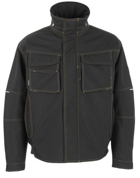 MASCOT-Workwear-Piloten-Winter-Arbeits-Berufs-Jacke, TAVIRA, 300 g/m², schwarz