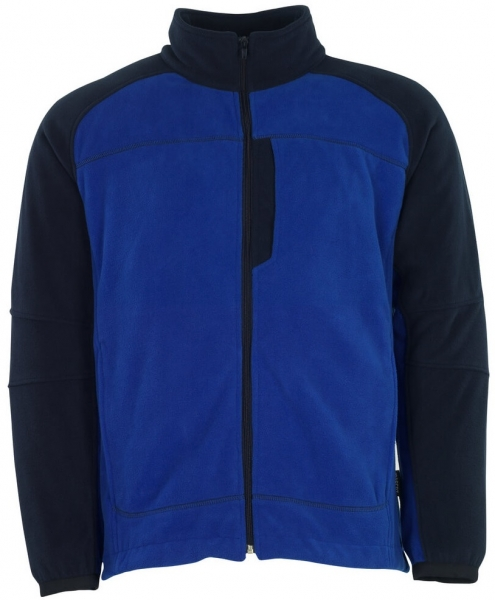 MASCOT-Workwear-Micro-Fleece-Winter-Arbeits-Berufs-Jacke, MESSINA, kornblau/marine