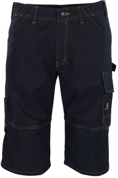 MASCOT-Workwear-Knie-Bundhose, Arbeits-Berufs-Shorts, 310 g/m², BORBA, schwarzblau