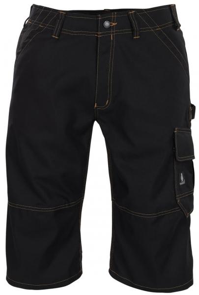 MASCOT-Workwear-Knie-Bundhose, Arbeits-Berufs-Shorts, 310 g/m², BORBA, schwarz