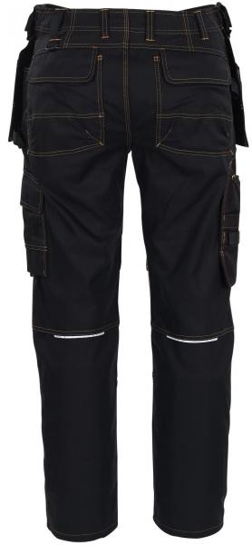 MASCOT-Workwear, Arbeits-Berufs-Bund-Hose, Almada, 82 cm, 310 g/m², schwarz