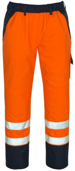MASCOT-Workwear-Warn-Schutz-Überzieh-Arbeits-Berufs-Bund-Hose, LINZ, orange/marine