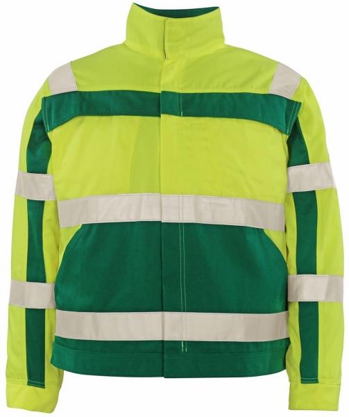 MASCOT-Workwear, Warnschutz-Jacke, Cameta, 310 g/m², gelb/grün