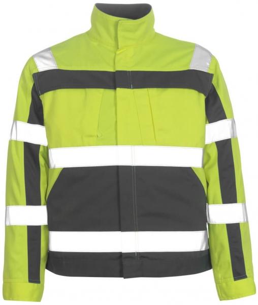 MASCOT-Workwear, Warnschutz-Jacke, Cameta, 310 g/m², gelb/anthrazit