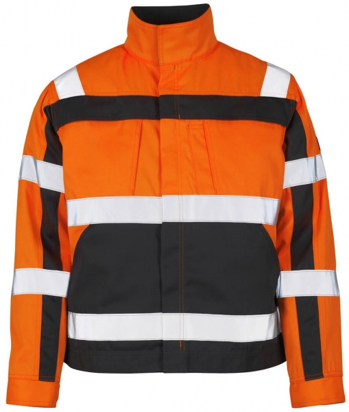 MASCOT-Workwear-Warn-Schutz-Arbeits-Berufs-Jacke, CAMETA, MG290, orange/anthrazit