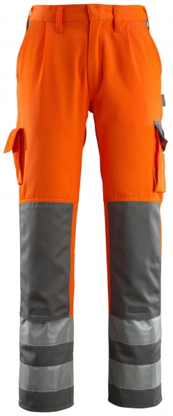 MASCOT-Warnschutz-Bundhose, Olinda, 82 cm, 290 g/m², orange/anthrazit