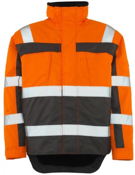 MASCOT-Workwear-Warn-Schutz-Piloten-Arbeits-Berufs-Jacke, TERESINA, orange/anthrazit
