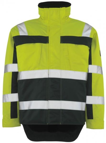 MASCOT-Workwear-Warn-Schutz-Piloten-Arbeits-Berufs-Jacke, TERESINA, gelb/grün