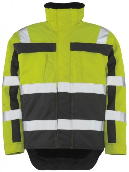 MASCOT-Workwear-Warn-Schutz-Piloten-Arbeits-Berufs-Jacke, TERESINA, gelb/anthrazit