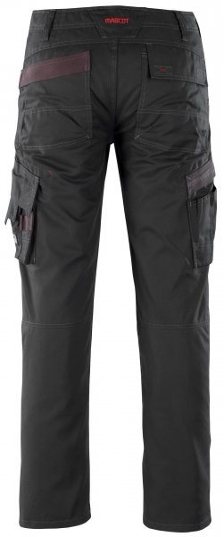 MASCOT-Workwear, Arbeits-Berufs-Bund-Hose, Rhodos, 90 cm, 260 g/m², schwarz
