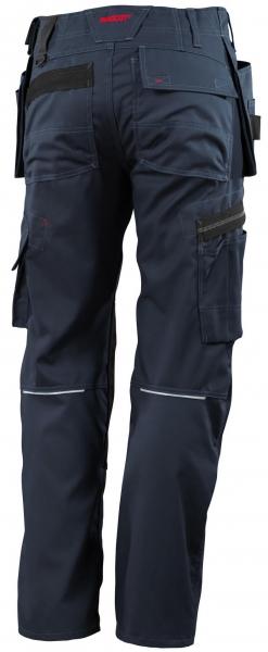 MASCOT-Workwear, Arbeits-Berufs-Bund-Hose, Lindos, 82 cm, 260 g/m², schwarzblau