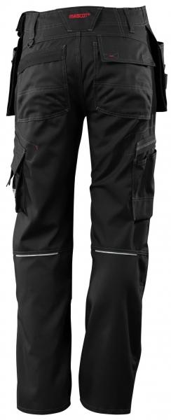 MASCOT-Workwear, Arbeits-Berufs-Bund-Hose, Lindos, 82 cm, 260 g/m², schwarz