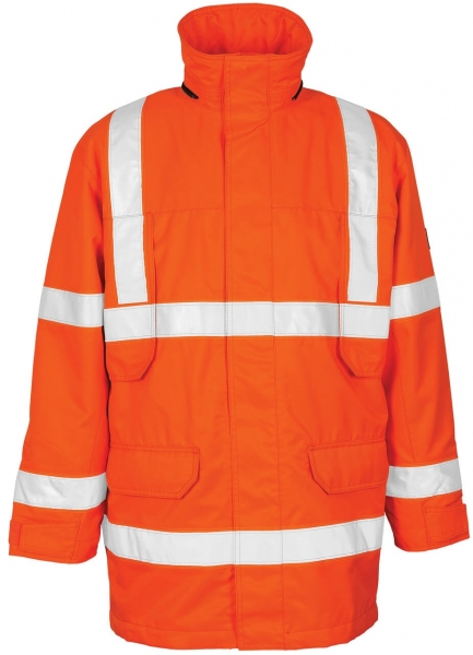 MASCOT-Workwear, Warnschutz-Parka, Vancouver, 240 g/m², orange