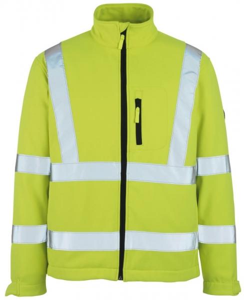 MASCOT-Workwear, Warnschutz-Soft Shell Jacke, Calgary, 365 g/m², gelb