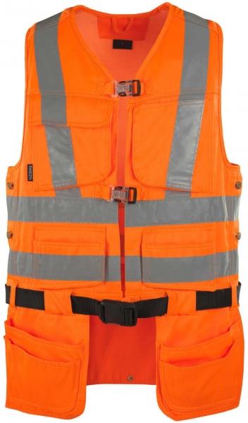 MASCOT-Workwear, Warnschutz-Weste, Yorkton, 290 g/m², orange