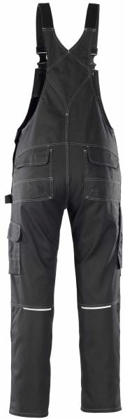 MASCOT-Workwear, Arbeits-Berufs-Latz-Hose, Orense, 90 cm, 310 g/m², schwarz