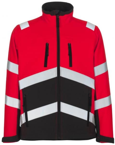 MASCOT-Workwear, Soft Shell Jacke, Antas,  360 g/m², rot/dunkelanthrazit