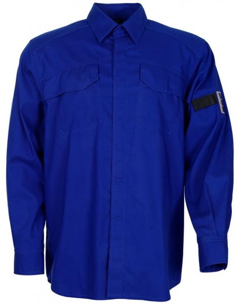 MASCOT-Workwear-Arbeits-Berufs-Hemd, TERNITZ, 1/1-Arm, ca. 170 g/m², kornblau
