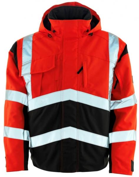 MASCOT-Workwear-Warn-Schutz-Piloten-Arbeits-Berufs-Jacke, CAMINA, 300 g/m², fluoreszierend
