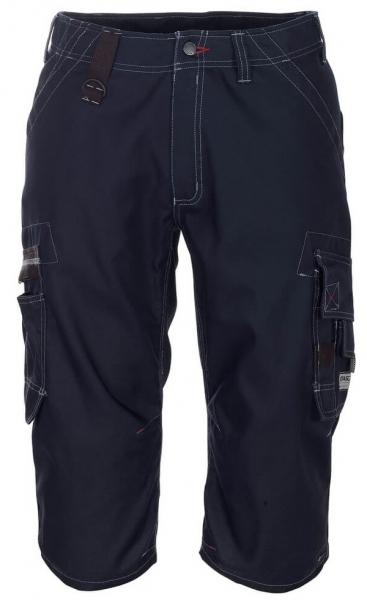MASCOT-Workwear-Knie-Bundhose, Arbeits-Berufs-Shorts, LIMNOS, 260 g/m², schwarzblau