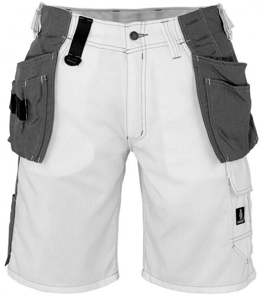 MASCOT-Workwear-Handwerker-Arbeits-Berufs-Shorts, ZAFRA, 260 g/m², weiß