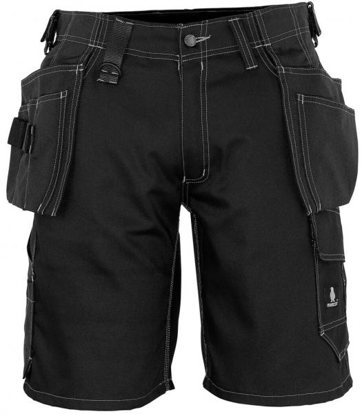 MASCOT-Workwear-Handwerker-Arbeits-Berufs-Shorts, ZAFRA, 260 g/m², schwarz