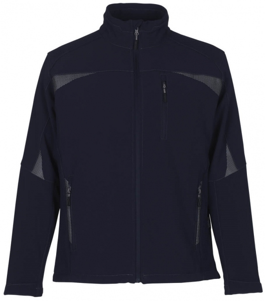 MASCOT-Workwear-Soft Shell Winter-Arbeits-Berufs-Jacke, mit Stretch, RIPOLL, marine