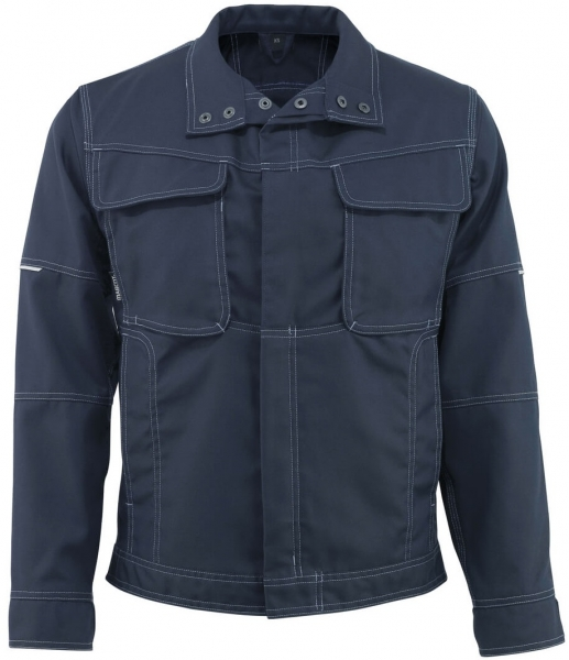 MASCOT-Workwear, Arbeits-Berufs-Arbeits-Jacke, Tulsa, 260 g/m², schwarzblau