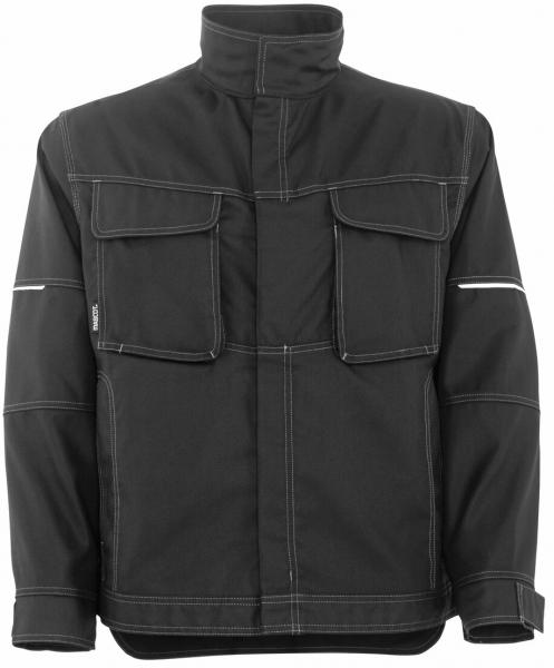 MASCOT-Workwear, Arbeits-Berufs-Arbeits-Jacke, Tulsa, 260 g/m², schwarz