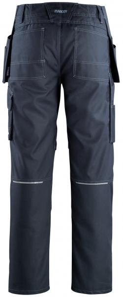MASCOT-Workwear, Arbeits-Berufs-Bund-Hose, Springfield, 82 cm, 260 g/m², schwarzblau