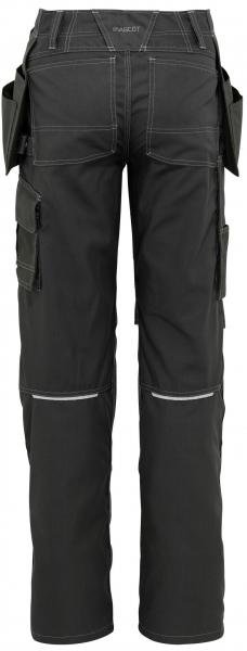 MASCOT-Workwear, Arbeits-Berufs-Bund-Hose, Springfield, 90 cm, 260 g/m², dunkelanthrazit