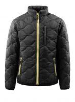 MASCOT-Workwear-Thermo-Arbeits-Berufs-Jacke, ROTA, schwarz