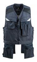 MASCOT-Workwear-Arbeits-Berufs-Weste, Werkzeug-Weste, BAZA, 260g/m², schwarzblau