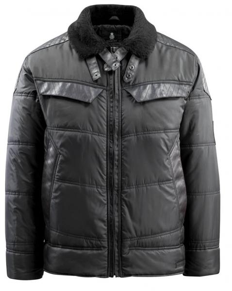 MASCOT-Workwear-Winter-Piloten-Arbeits-Berufs-Jacke, HARO, schwarz