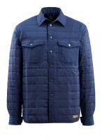 MASCOT-Workwear-Kälte-Schutz-Winter-Hemd, Hoboken, FREESTYLE, 80 g/m², marine