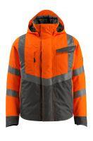MASCOT-Workwear-Warn-Schutz--Piloten-Jacke, Hastings, SAFE SUPREME, 210 g/m², orange/schwarzblau