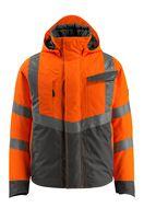MASCOT-Workwear-Warn-Schutz-Piloten-Jacke, Hastings, SAFE SUPREME, 210 g/m², orange/dunkelanthrazit