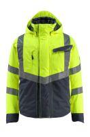MASCOT-Workwear-Warn-Schutz-Piloten-Jacke, Hastings, SAFE SUPREME, 210 g/m², gelb/schwarzblau